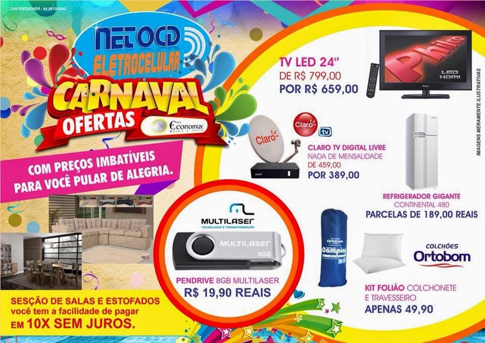 Ofertaço de Alto Folia nas Lojas Neto Cd Eletrocelular