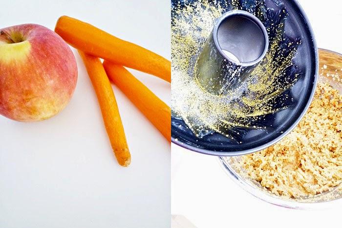 Saftiger Apfel-Karotten Gugelhupf