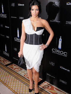 Kardashian White Dress on Kim Kardashian White Dress
