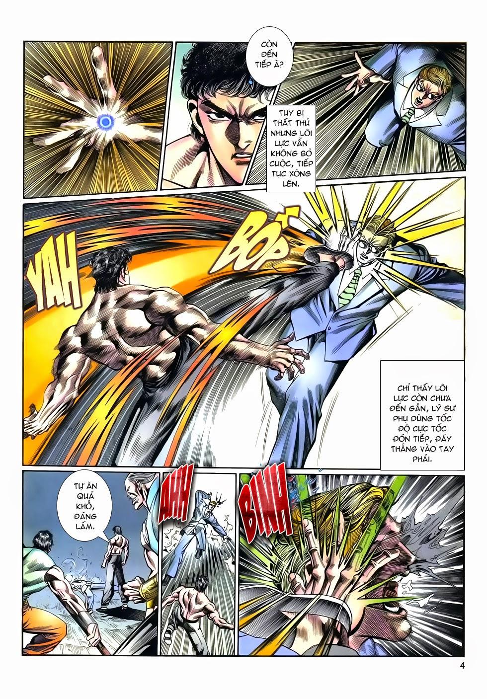 Long Hổ Phong Bạo chap 9 - Trang 4