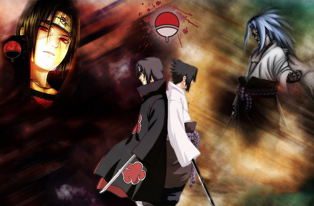 Naruto and Itachi wallpaper