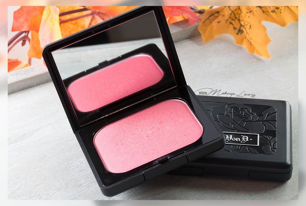 Kat von D Everlasting Face Shaper Blush Por Vida Review Swatch