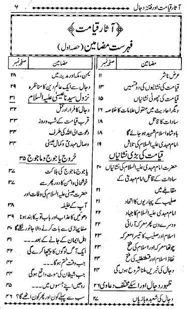 Aasaar-e-Qayamat Aur Fitna-e-Dajjal Ki Haqiqat