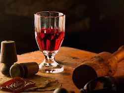 Rotwein im Keller