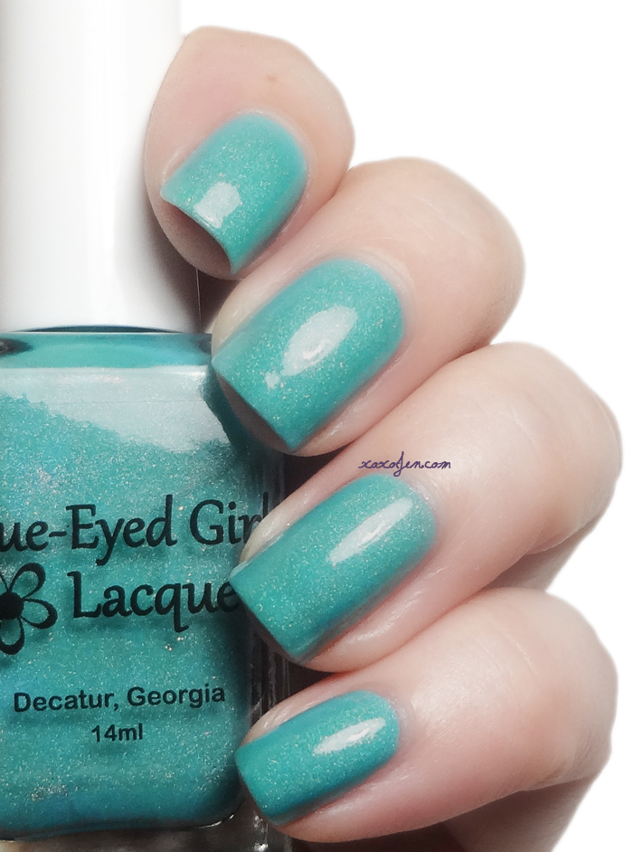 xoxoJen's swatch of Blue-Eyed Girl Lacquer Sepulcher by the Sea