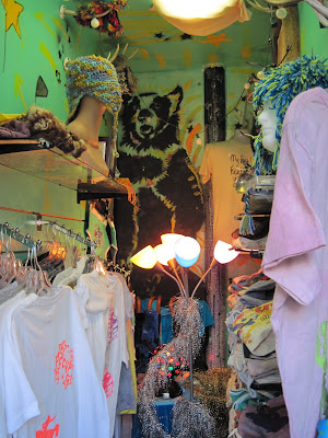 A photo of the inside of the World's Smallest Store which is New in New York