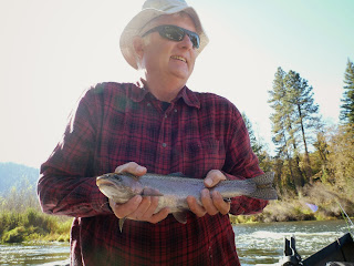 Salmon and steelhead fishing in california ad oregon with ironhead guide service