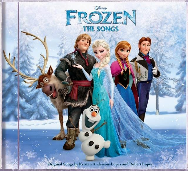 Disney's Frozen The Songs CD