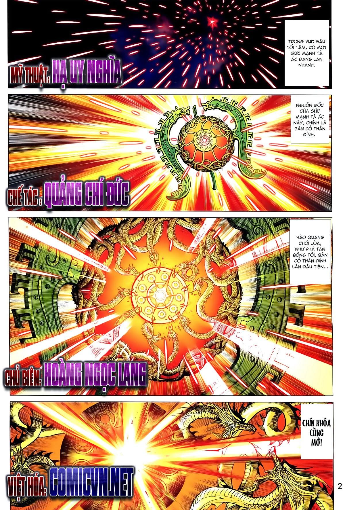 Thần Binh Vấn Thiên chap 36 Trang 3 - Mangak.info