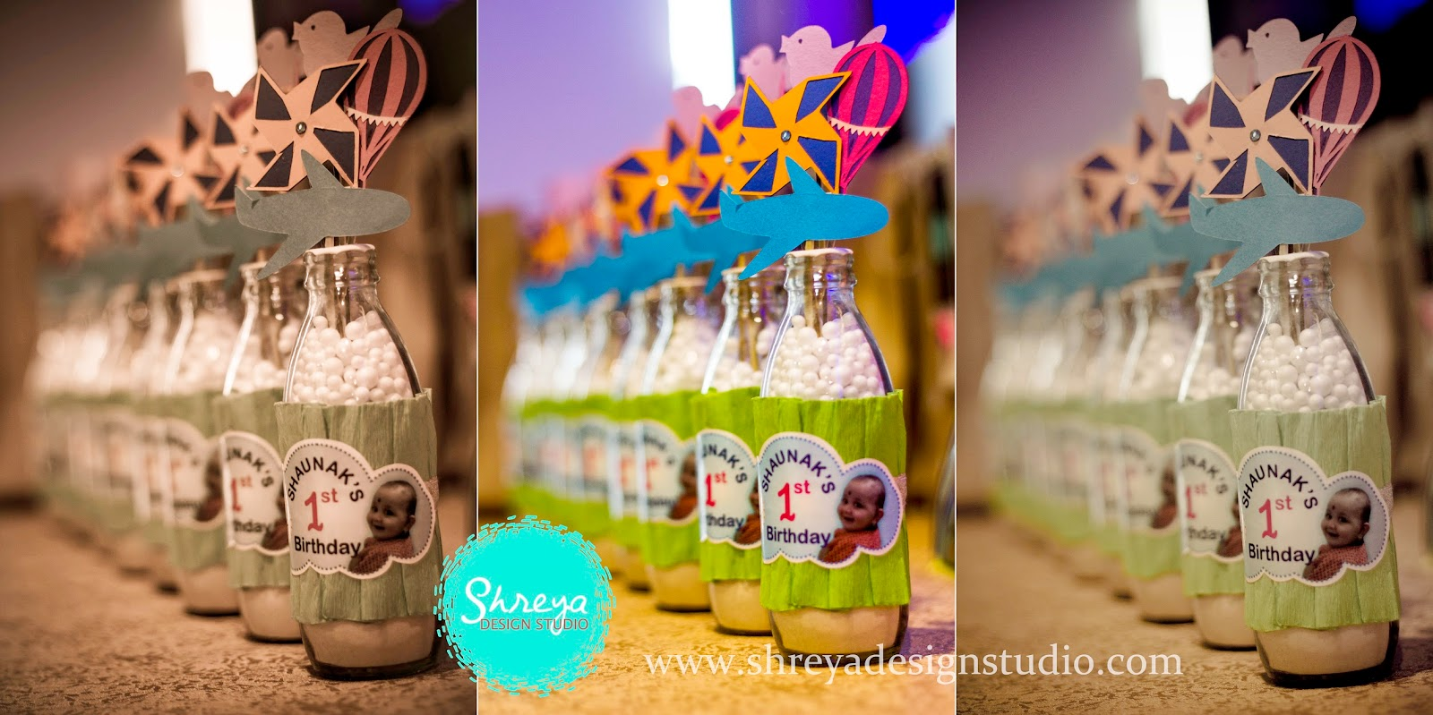 Handmade Return Gifts- Shaunak's 1st Birthday Party