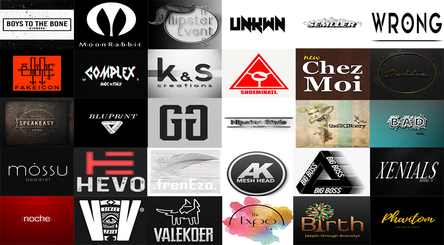 Sponsors I'm working - worked with //