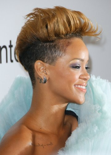 rihanna hair red short. rihanna red hairstyles 2011.