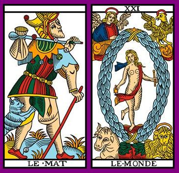 La vía del Tarot. por Alejandro Jodorowski Loco-mundo