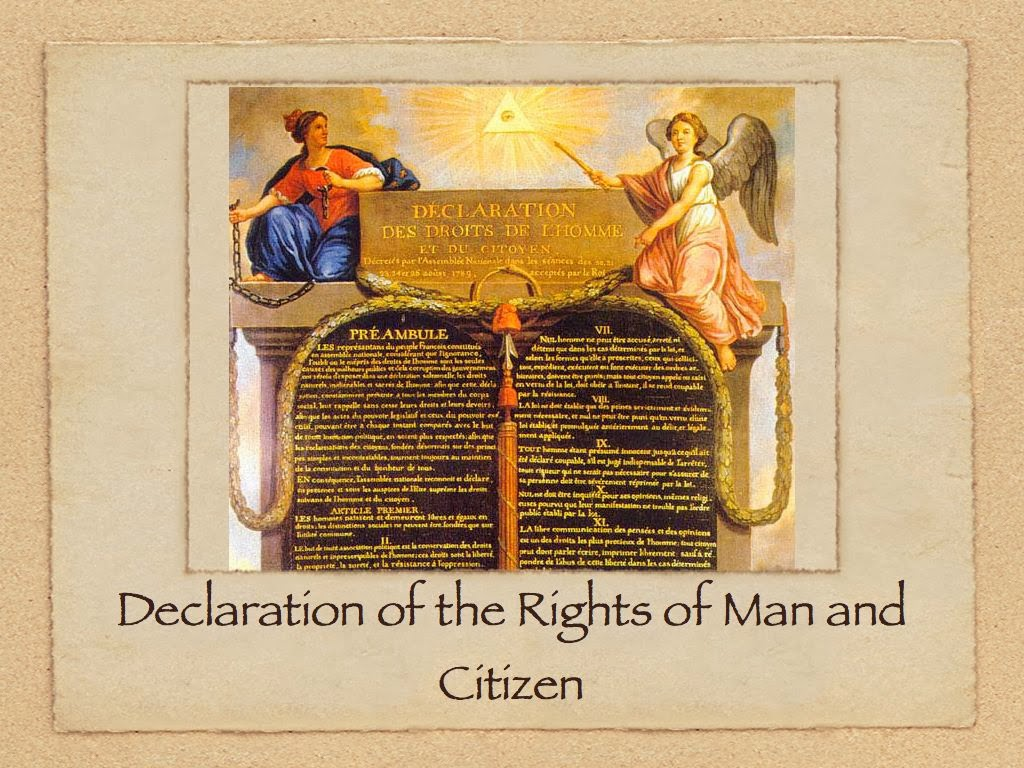 Declaration of the Rights of the Man and of the Citizen of 1789