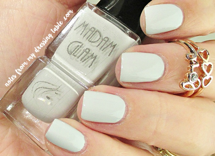 Madam Glam Nail Polish Cashmere notesfrommydressingtable.com