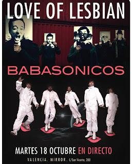 concierto love of lesbian sala mirror valencia-octubre 2011