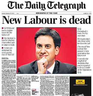 Labour Miliband Telegraph media