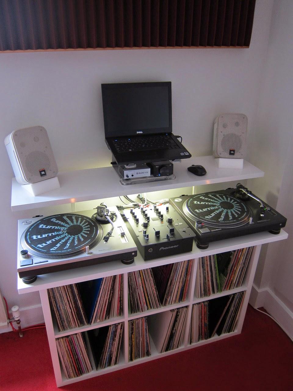 Other views of the stand & DJ Stand / Desk / Vinyl Storage Unit | Scott Donovan