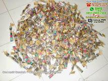 Souvenir Sendok Garpu Paking Anyaman Alumunium Lampung