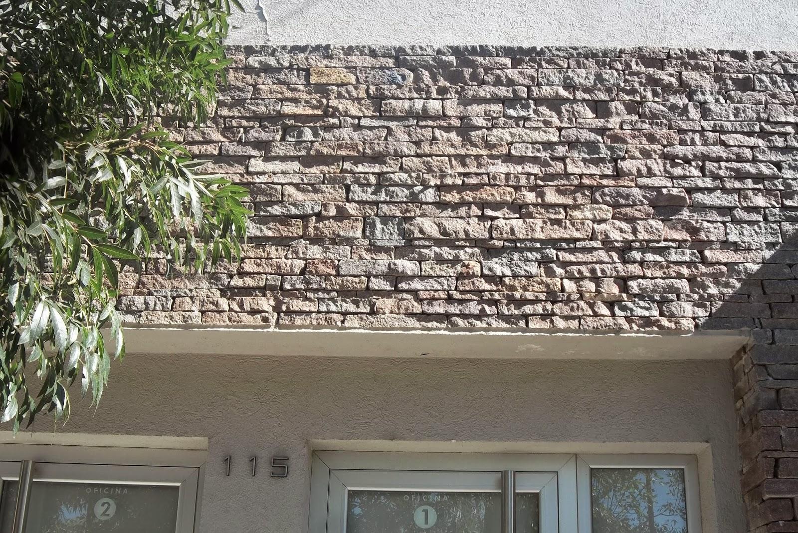Premoldeados el muro revestimientos para pared - Color piedra paredes ...