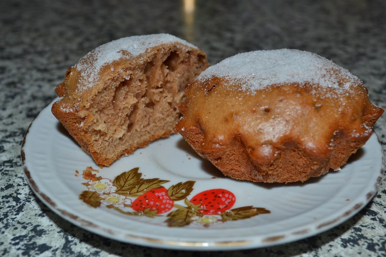 Кекс шоколадный с орехами рецепт