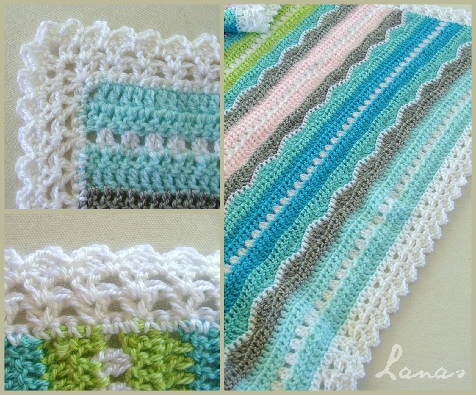 baby blankets This easy baby blanket crochet pattern works up quickly it is great for learning how to crochet a blanket for the first time.