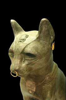 Ancient Egyptian Bronze Cat