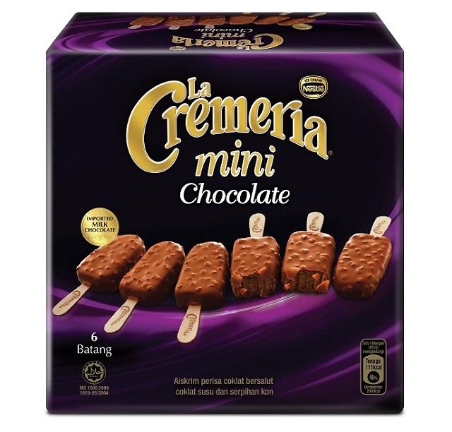 The New LA CREMERIA MINI Launched - A Perfect Bite-sized Indulgence