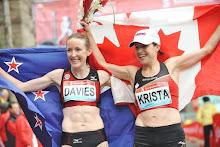 Marathon Mums - Krista Duchene and I