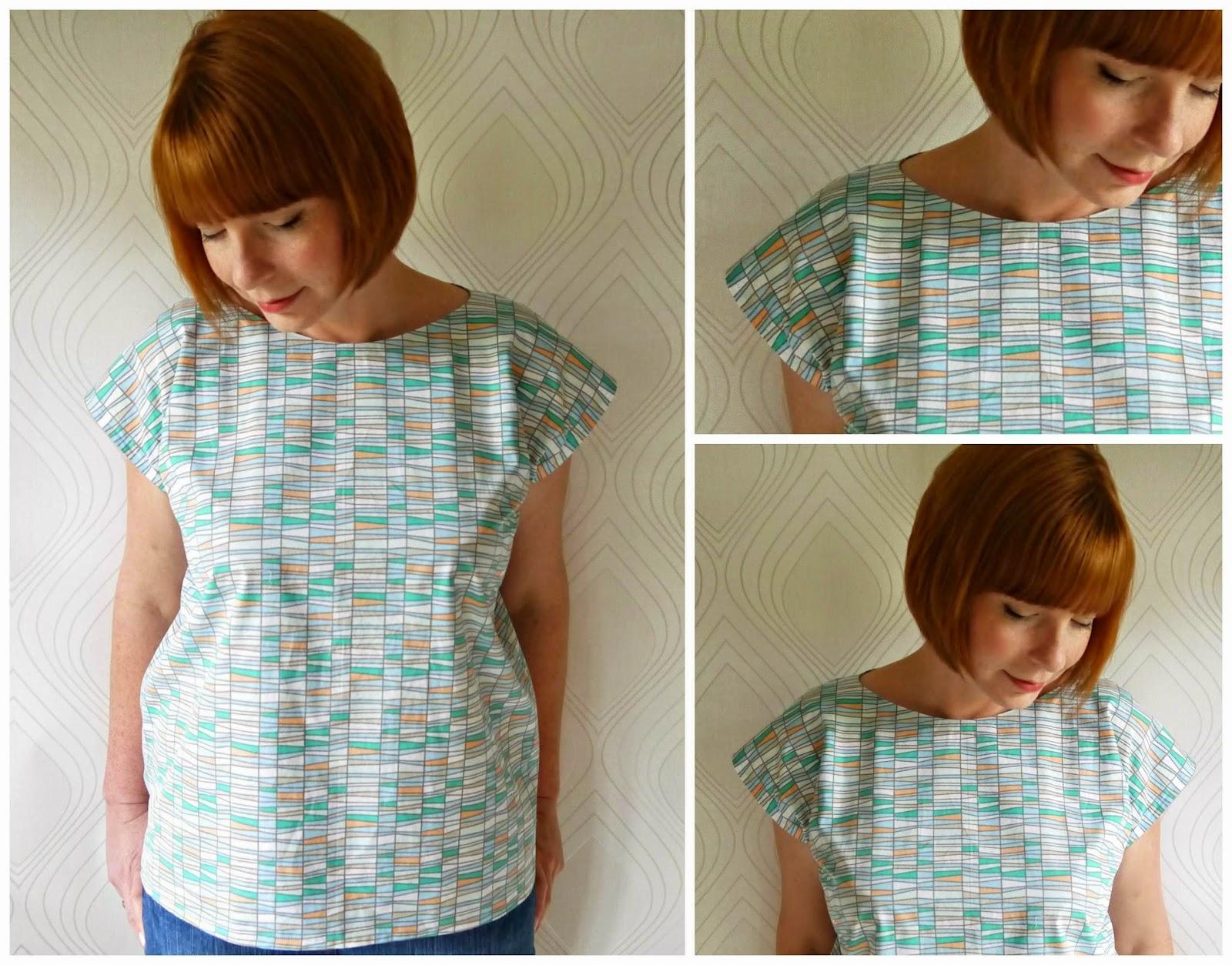 Как сшить блузку своими руками из льна 85