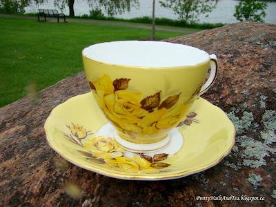 Colclough Bone China Tea Cup