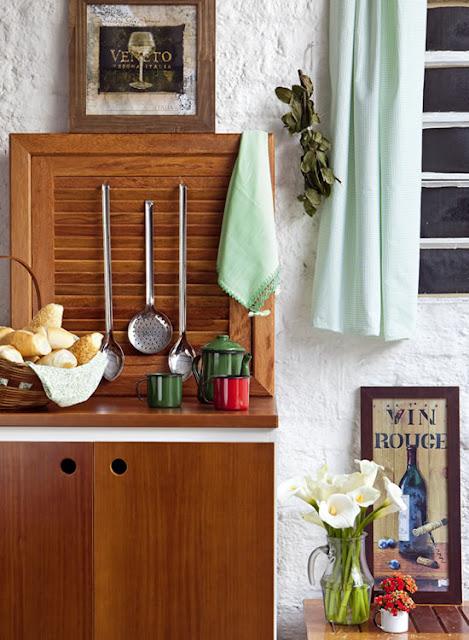 decorar cozinha velha: de decoração – Arquitrecos: Aquela velha veneziana de madeira