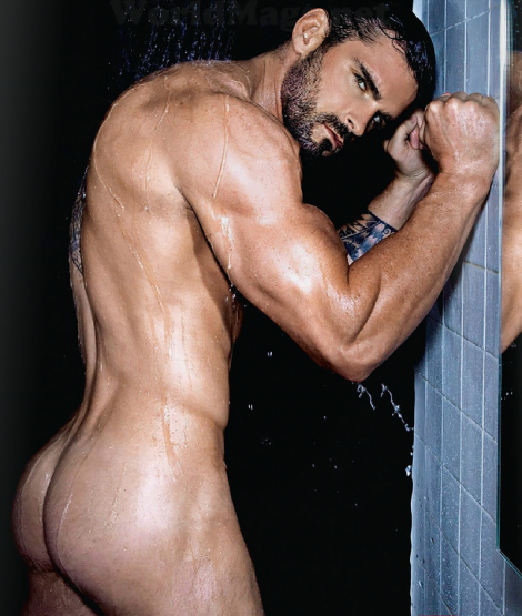 Stuart Reardon by Rick Day for Gay Times Magazine