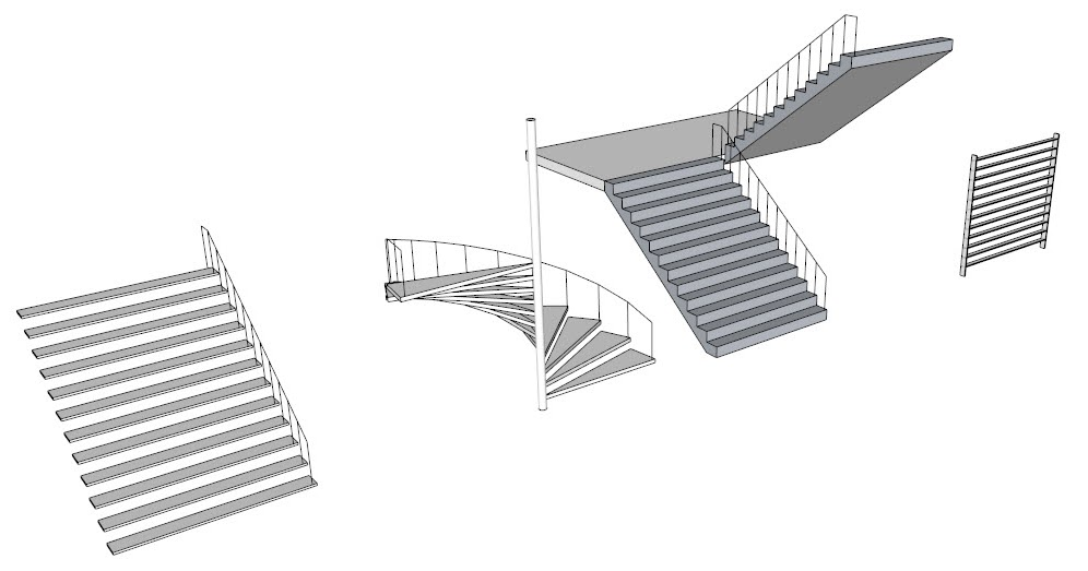 Sketchup For Interior Design Stairs In Sketchup