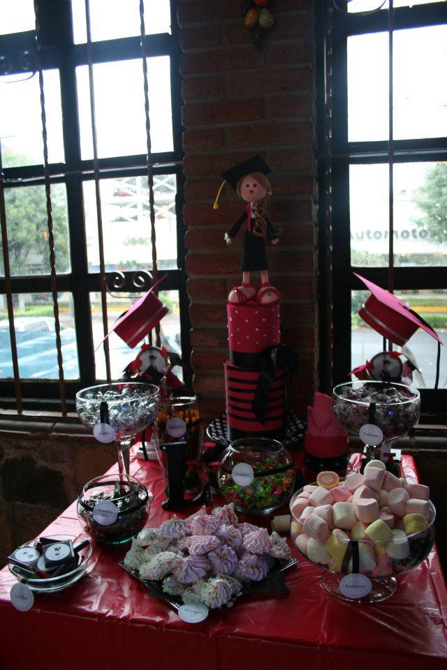 Dulces y Eventos: Mesa de dulces para Graduación
