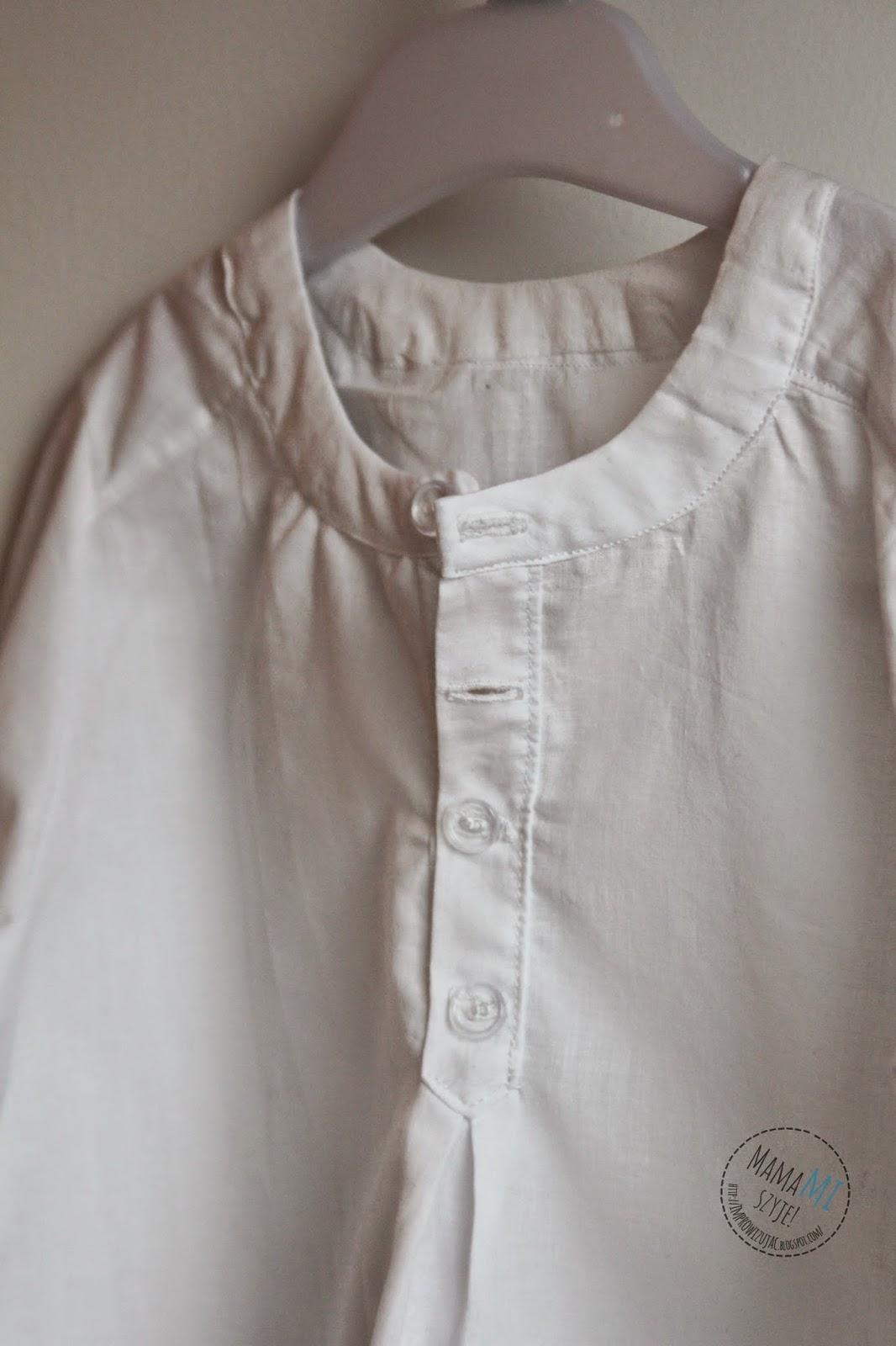 koszula do marynarki dla dziecka