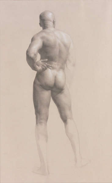 image of drawing male figure