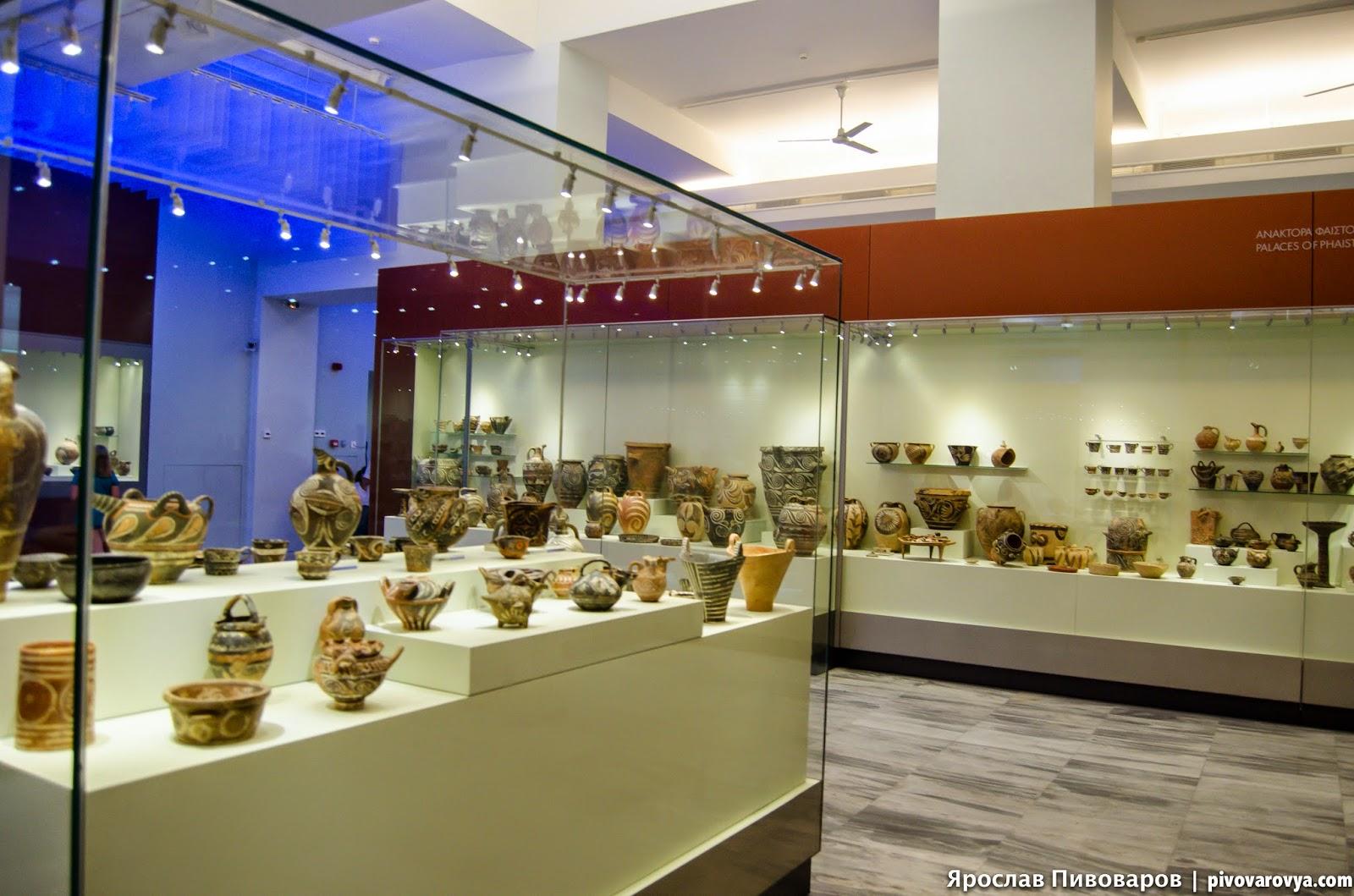 Археологический музей в Ираклионе (Греция, о. Крит)