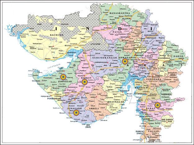 Gujarat Information  Gujarat Map  Gujarat University