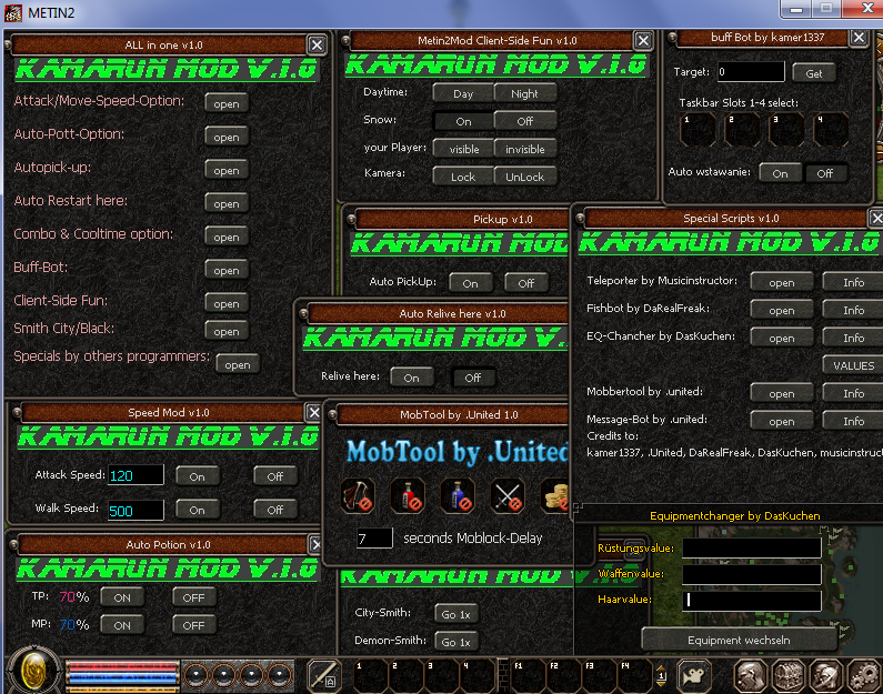 Metin2 Global Kamarun Multihack v1.0 indir – Download