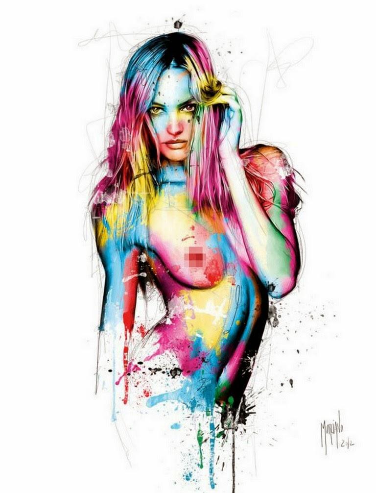 dibujos-de-mujeres-bonitas-a-color