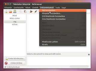 irodai rendszerező Ubuntu