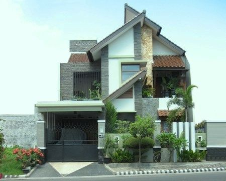 desain artistik rumah modern