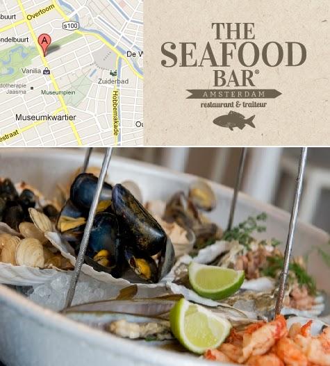 Glutenfree amsterdam diner for Seafood bar van baerlestraat