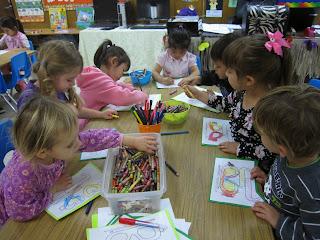 letter G preschool pre-k art craft
