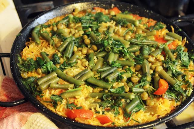 Паэлья овощная рецепт с фото