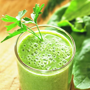 Tasty Fun Recipes - Apple Spinach Smoothie