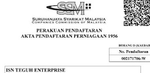 SSM Registration