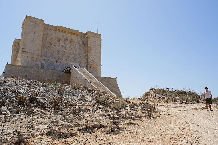 santa marija tower, comino, malta
