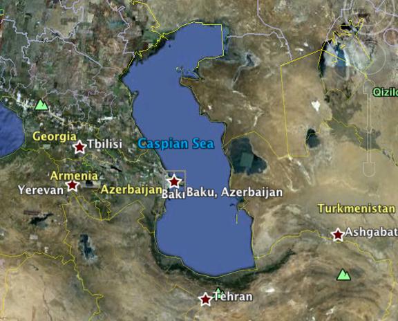 Google Earth Azerbaijan Map - Georgia map google earth